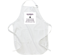 Do Good Things And Good Things Will Come Away. Apron - $23.99+