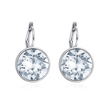 MALANDA Brand Crystal From Swarovski Bella Stud Earrings For Women Fashi... - $23.01