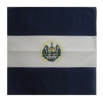 EL SALVADOR FLAG BANDANA Cotton Scarves Scarf Head Hair Neck Band Skull ... - $9.60