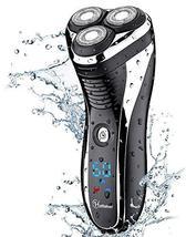 HATTEKER Electric Shaver Rotary Razor Men Cordless Beard trimmer Pop-trimmer Wet image 9