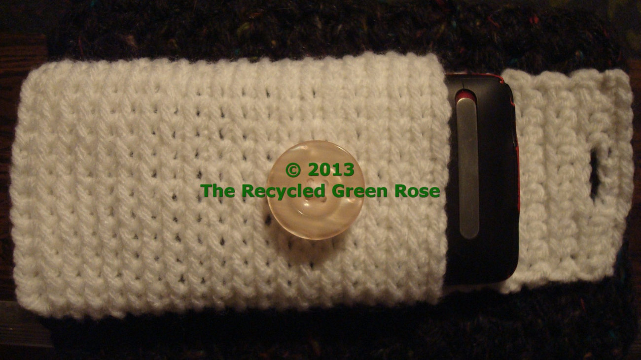 PHONE COZY - Gadget Cover - Crochet - Phone Case - Protection