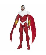 "Marvel's Falcon Avengers Titan Hero Series Action Figure 12"" - New - $14.86"