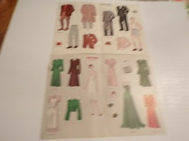 Vintage Jack & Jill Mother & Father Paper Dolls - $20.00