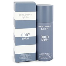 Light Blue by Dolce & Gabbana Body Spray 4.2 oz (Men) - $24.44