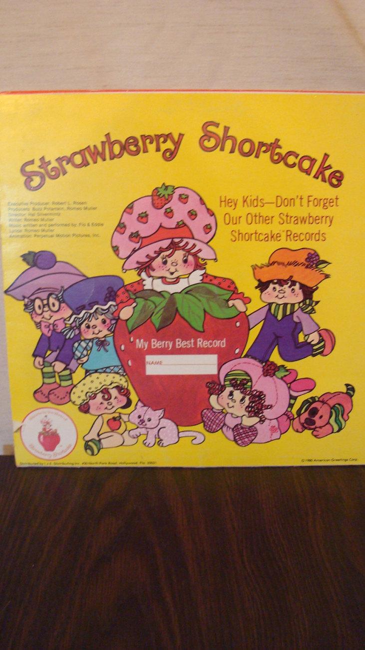 Strawberry Shortcake - Big Apple City Soundtrack - Vinyl Record - Vintage Album