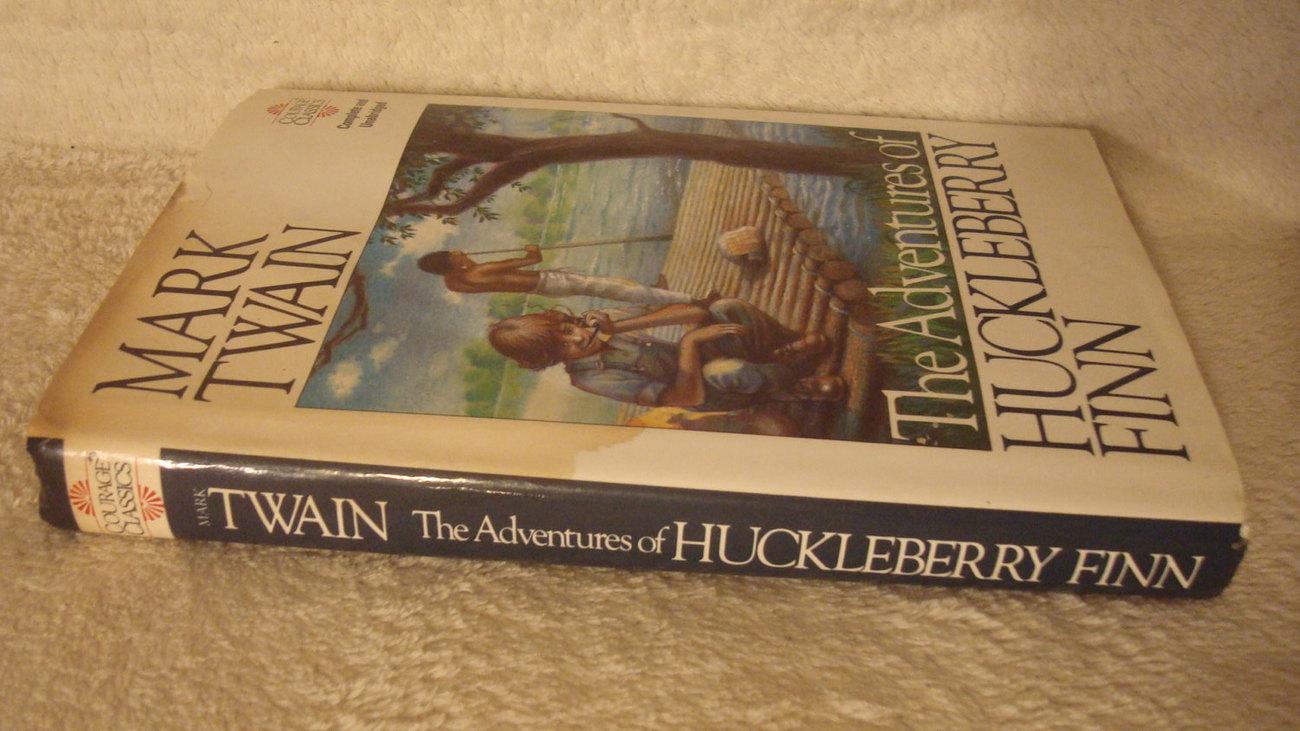 Mark Twain - The Adventures of Huckleberry Finn - Vintage
