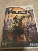The Incredible Hulk (Nintendo Wii, 2008) - $5.94
