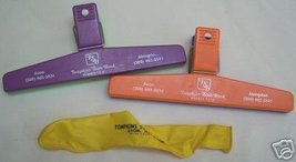 Tompkins State Bank Avon Illinois IL Clips and Balloon - $4.50