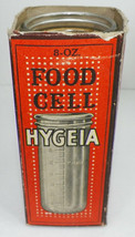 RARE 1916 HYGEIA 8 OZ FOOD CELL BABY BOTTLE WITH ORIGINAL BOX   A3 - $12.99