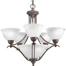 Avalone Collection Braided Metal Accents Hanging Chandelier 5 Light P4069-33 - $289.29