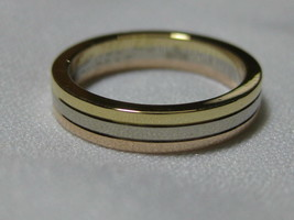 Cartier Trinity ring Used MINT Condition Three color 750 K18 US3.5-4 Fro... - $755.36