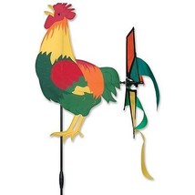 """Rooster 12"""" Staked Petite Wind Spinner ..11....PR 25057 - $24.99"""