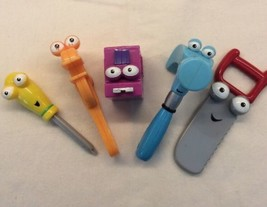 Disney Handy Manny Dancing Tool Box Replacement Lot 5 Hammer Screwdriver Wrench - $24.52