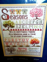 New Vintage Sunset Counted Cross Stitch Kit 2924 - A Season And A Time - $9.89