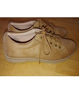 CLIFFS BY WHITE MOUNTAIN LADIES BROWN LACE-UP LIGHTWEIGHT SHOES-8M-WORN ... - $17.99