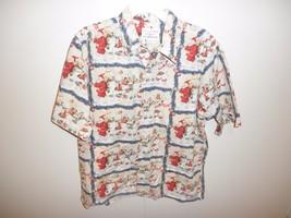 Reyn Spooner Hawaiian Shirt 1999 Guy Buffet Christmas Chefs Holiday Meal - $64.35