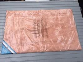 "InterDesign Peach Microfiber Rug Accent Decor Floor Mat Spa Bathroom 34""... - $13.10"