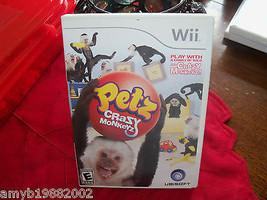Petz: Crazy Monkeyz (Wii, 2008) EUC  - $35.00