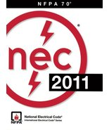 NEC 2011: National Electrical Code 2011/ Nfpa 70 (NFPA) National Fire Protection - $151.13