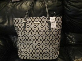 Nine West Ladies Blake Black Tote handbag Brand New - $55.00