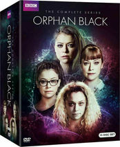 Orphan Black Complete Series Seasons 1 2 3 4 & 5 DVD Collection New Box ... - $48.00