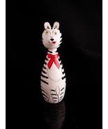 Whimsical cat Box - wood trinket box - ring case - jewellery box - cat l... - $45.00