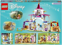 Lego 43195 disney stables reales bella and rapunzel princess 2 and 2 horses - $312.39