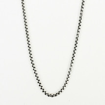 "David Yurman Sterling Silver ""Box Chain"" Necklace - $505.00"
