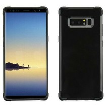 For Samsung GALAXY Note 8 Silicone Gel Hybrid TPU Soft Cover Black Rubber Case - $5.95