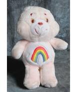 "Kenner CHEER Care Bear Pink 13"" Rainbow Stuffed Plush - $4.00"