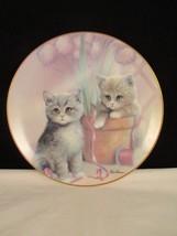 Playful Companions Kitten Cousins Ruane Manning Danbury Mint Collector P... - $7.91