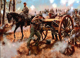 Role War Art oil painting printed on canvas home decor Bronze Guns and  - $12.99