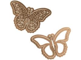 Spellbinders D-Lites Flutters Etched/Wafer Thin Dies #S2-073 image 1