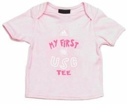 South Carolina Gamecocks adidas Baby Infant Girl First Tee - Pink - $3.98