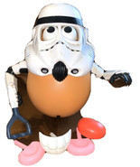 PLAYSKOOL MR POTATO HEAD Body Parts LOT STAR WARS Stormtrooper No Feet - $5.94
