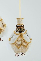 katherine's collection owl Ornament Thread Gold 18-844764 Print Pant & Hat - $29.69