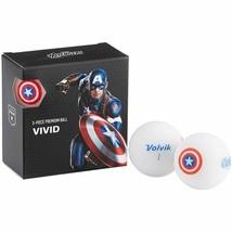 Volvik Marvel Golf Balls 4pk-Captain America - $28.13