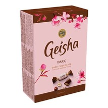 Fazer Geisha Dark Chocolate Gift Box 150g Free Us Shipping - $10.88