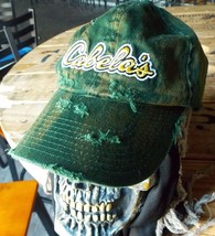 Authentic Cabela's Hat, Custom Destroyed Distressed Ripped Sun Dyed and ... - $17.82