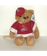 1/2 off! St Louis Cardinals Plush Bear with Bat MLB Baseball NWT  - $4.40