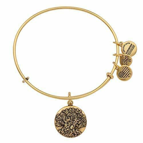 Alex and ANI Disney Animal Kingdom Tree of Life Bangle Bracelet Charm Gold - $49.48