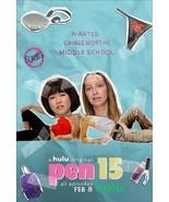 """PEN15 Poster 2019 New Teen Comedy TV Series Art Print Size 14x21"""" 24x36"""" 27x40"""" - £7.57 GBP - £11.39 GBP"""