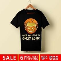 Trumpkin Funny T-Shirt - Anti Donald Trump T-shirt Black Halloween Men's... - $13.85+