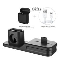 Apple Charging Dock 3 In 1 Docking Station Iphone X 5 6 8 7 Plus Watch Series 3 image 5