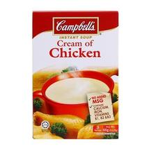 Campbell's, Instant Soup, Cream of Chicken, 66 g (Pack of 2 ) - $15.68