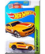 Hot Wheels - '13 HW Chevy Camaro SE: '15 Muscle Mania #232/250 *Yellow Edition* - $3.00