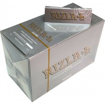 100% Genuine RIZLA SILVER  Cigarette Rolling Papers Regular  Rolling Paper - $1.30+