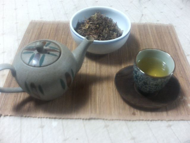 Dokudami Tea, Fresh Organic, Japanese Medicinal Herbal Tea