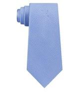 Light Blue  Designer Michael Kors Men's Puppytooth Classic Silk Tie - $28.05