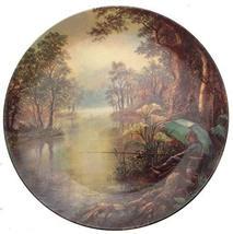 Danbury Mint First Light Gone Fishing Plate Graham Twyford - CP1684 - $36.95